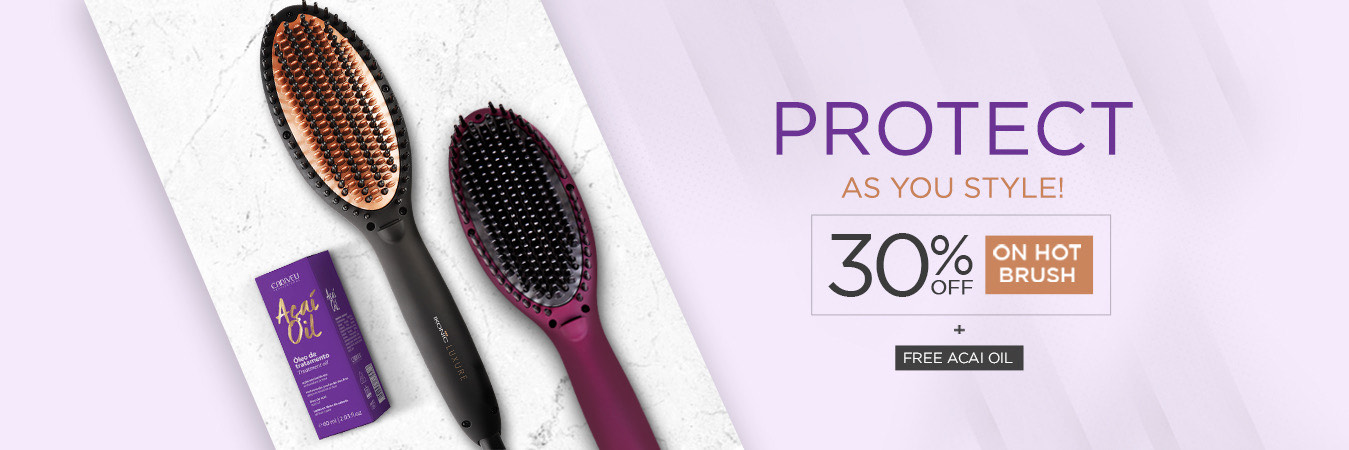 30% OFF On Hot Brush