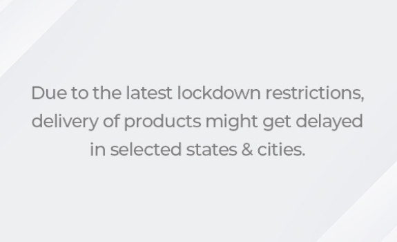 Lockdown Announcement on Delivery