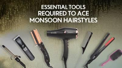 Essential tools required to ace monsoon hairstyles